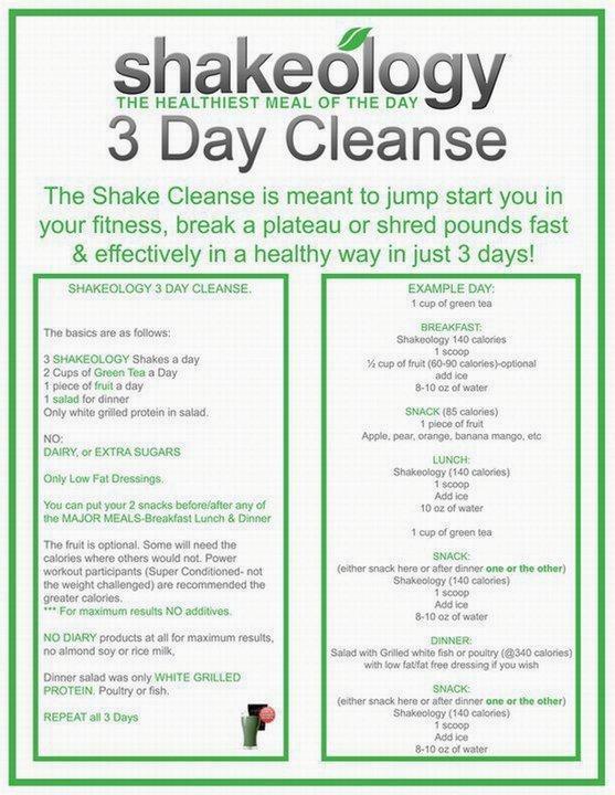Shakeology-Cleanse