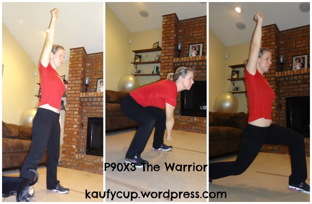 12 warrior squat lunges
