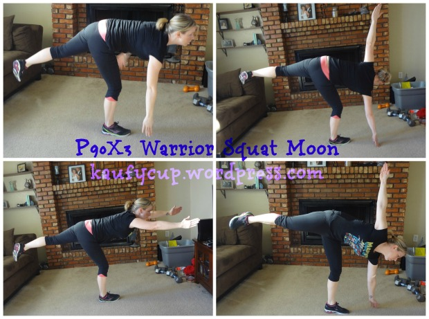 16 warrior squat moon