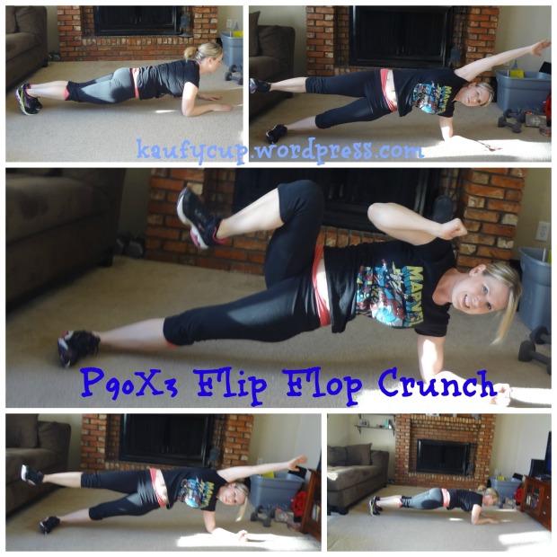 4 flip flop crunch