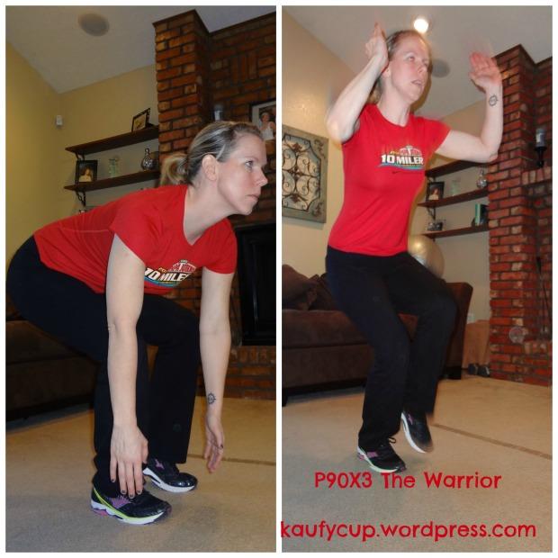 8 one leg jump squats