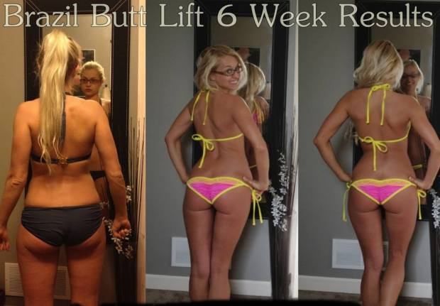 Six weeks for a butt like that? I'll take it!