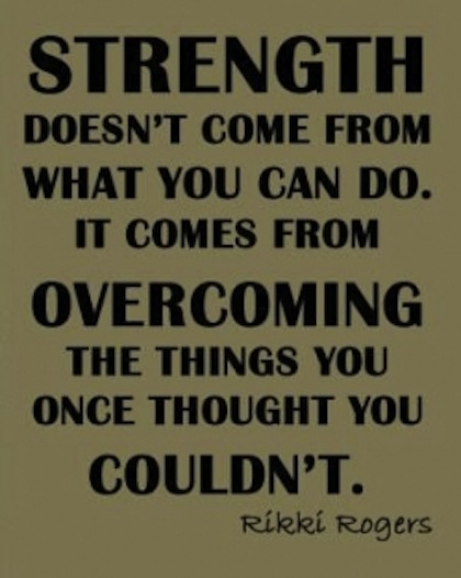 strength overcome